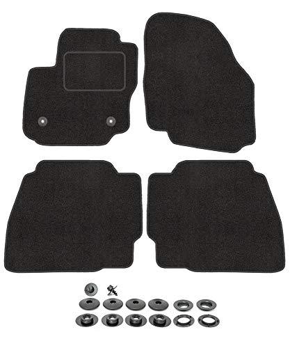 Fußmatten für Ford Mondeo MK4 4 2007-2014 Velours Automatten