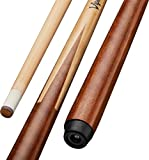Viper by GLD Products Commercial/House 57' 1-Piece Canadian Maple Billiard/Pool Cue, 18 Ounce, Brown (50-0100-18)