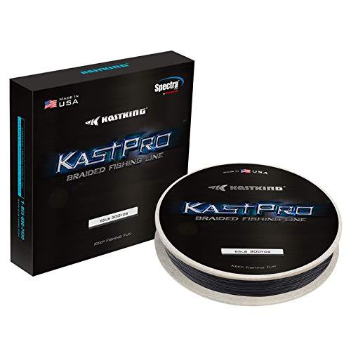 KastKing KastPro Braided Fishing Line - Spectra Super Line - Made in...