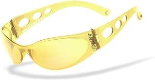 HELLY - No.1 Bikereyes   Bikerbrille, Motorradbrille, Nacht- & Schlechtwetterbrille   windabweisend, bruchsicher, beschlagfrei   TOP Tragegefühl bei langen Ausfahrten   Brille: pro street