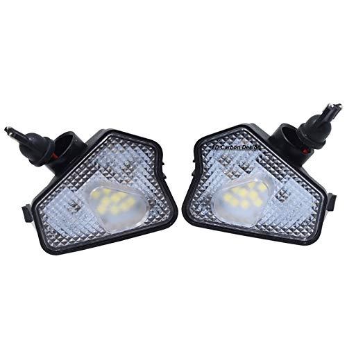 2x TOP LED Umfeldbeleuchtung Aussenspiegel Leuchte Umgebungslicht Weiß (7225)