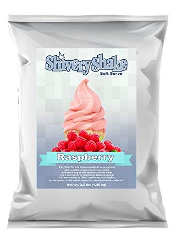 ShiveryShake Raspberry Soft Serve Ice Cream Mix