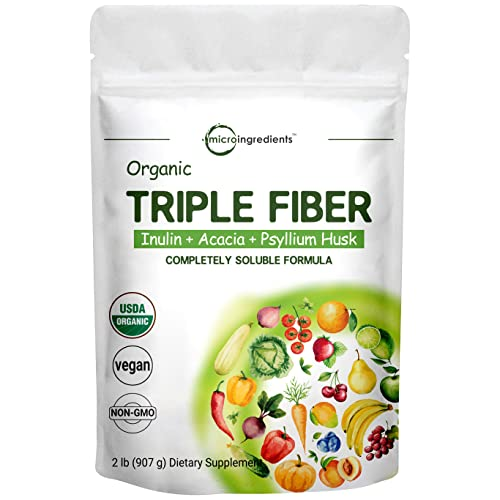 Organic Fiber Supplement (Inulin from Chicory...