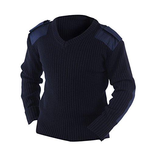 YOKO - Pull de sécurité de l'OTAN - Homme (M) (Bleu Marine)