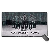新品 アラン・ウォーカー Alan Walker 2 人気 マウスパッド 大型 ゲーミング デスクマット Pcマット ゲーミングマウスパッド 防水 滑り止ブルクロス75×40サイズ