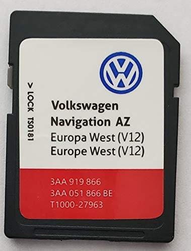 Tarjeta SD GPS Volkswagen Seat Skoda Europa occidental 2020 V12 RNS 315