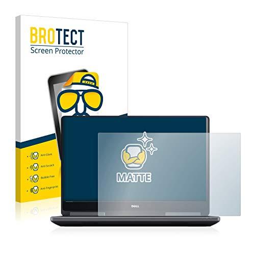 BROTECT Entspiegelungs-Schutzfolie kompatibel mit Dell Precision 7720 Bildschirmschutz-Folie Matt, Anti-Reflex, Anti-Fingerprint