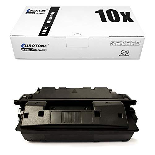 10x Eurotone Remanufactured Toner for HP Laserjet 4000 4050 SE T TN N Replaces C4127X 27X