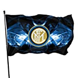Emonye Inter Milan Wallpaper 2018 3x5 Foot Flag Outdoor Flags 100% Single-Layer Translucent Polyester 3x5 Ft