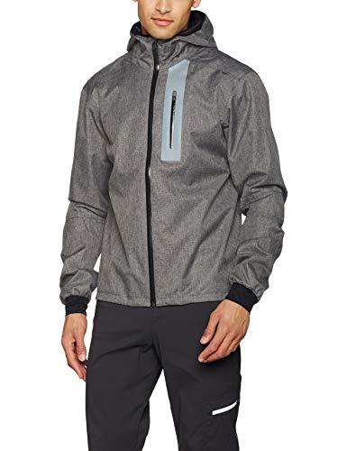 Craft Ride Veste Homme Anthracite Chiné/Noir FR : XL (Taille Fabricant : XL)