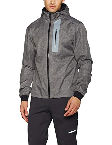 Craft Herren Ride RAIN Jacket M Regenjacke, Dark Grey, XL