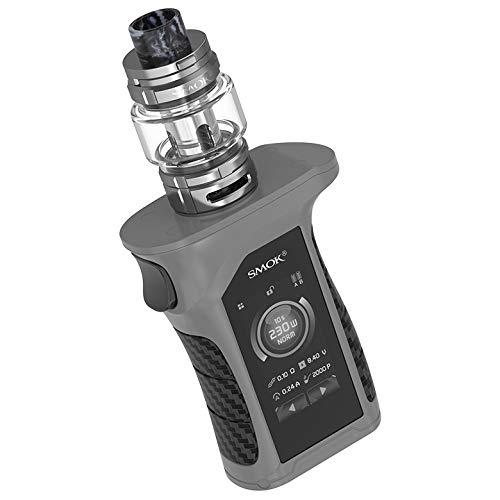 SMOK Mag P3 Kit E-Zigarette 230W mit TFV16 Tank 9ml Standard Edition 1 x Enthält BTKSY-Schlüsselanhänger/kein Nikotin - kein Rauchöl (Grey black)