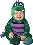 Fancy Me Deluxe Baby Jungen Dinky Dinosaurier Tier Halloween Charakter Kostüm Kleid Outfit - Grün,...
