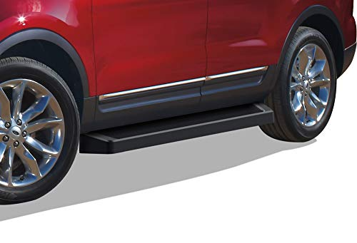APS iBoard Black Running Boards Style Compatible with Ford Explorer 2011-2019...