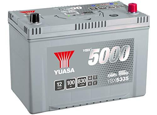 YUASA - BATTERIE YUASA YBX5335 SILVER 12V 100Ah 830A