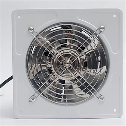 Release Ventilador de Refuerzo de conducto en línea de 6 Pulgadas, Extractor de ventilación de Entrada de Escape, Ventilador de Tubo de Ventana para baño, Inodoro, Cocina (Color : White)