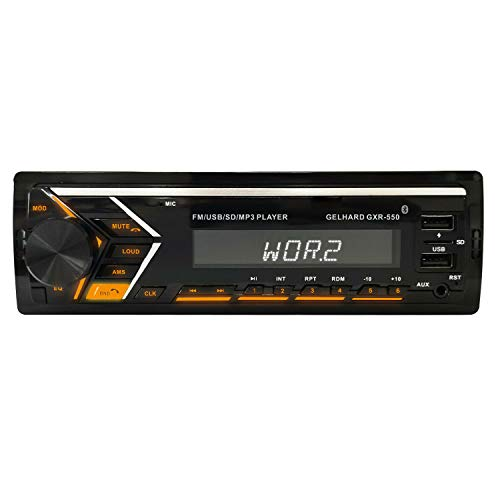 Gelhard AUTORADIO GXR550 mit USB SD MP3 Bluetooth UKW RDS