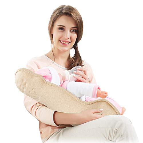 Oreiller d'allaitement matière coton colorée confortable et respirante 45 ° l'allaitement maternel peut être librement ajusté support de dispersion de force dos ventre et bassin Coussin d'Allaitement