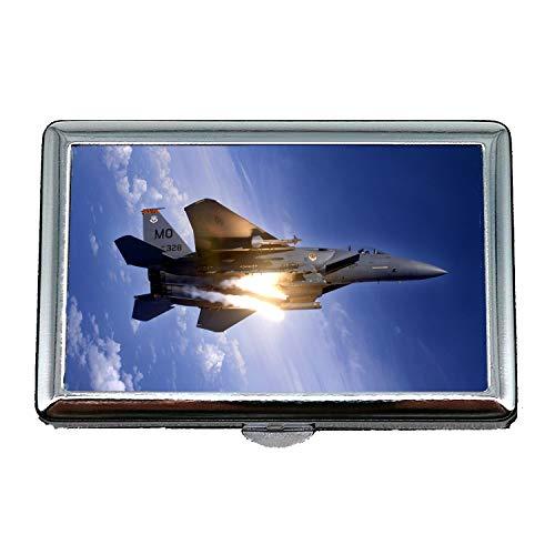 Yanteng Kampfflugzeuge, Zigarettenetui Box, Straßenkämpfer 5 PS4, Visitenkartenetui Visitenkartenetui Edelstahl