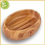 Grüne Valerie - Große edle nachhaltige Seifenschale/Seifenhalter/Soap Box Dish/aus Natur Holz...