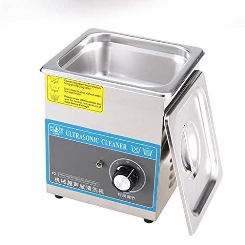 BBGS 1.3L Acero Inoxidable Comercial Limpiador Ultrasónico, Ideal para Joyería Reloj Gafas Dentaduras Piezas Pequeñas Placa de Circuito Instrumento Dental