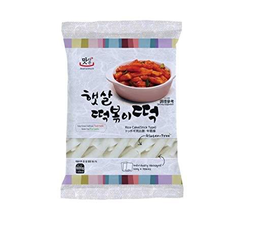 Rice Cake Stick-Reiskuchen tube (Stangen) 600g, Korean Tteok-bokki