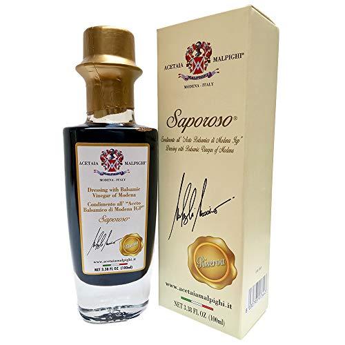 """""""SAPOROSO RESERVE"""" Dressing with Balsamic Vinegar of Modena – SAPOROSO RISERVA"""