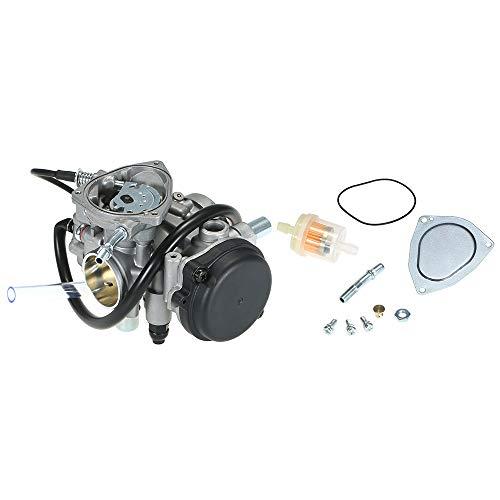 KKmoon carburateur carburateur reservemotor carburateur voor Yamaha Bear Tracker 250 YFM250 1999-2004 ATV 450