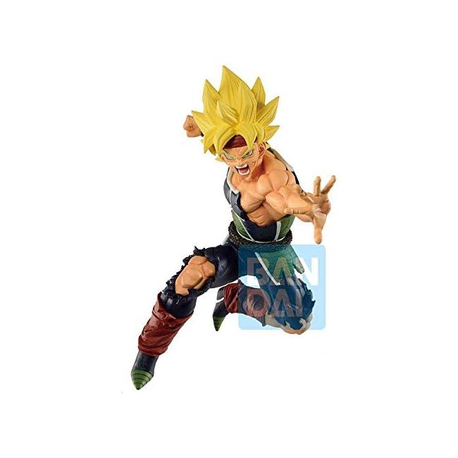 Dragon Ball Super Statue Super Saiyan Bardock Rising Fighters 18 cm