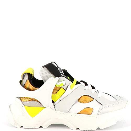 A.S.98 Sneaker Bassa Monster A12101-501 Combi 10 Bianco 40