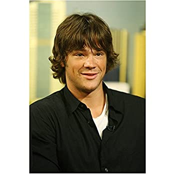 Jared Padalecki 8 Inch x 10 Inch Photograph Supernatural Gilmore Girls House of Wax Black Over White Looking Very Young kn