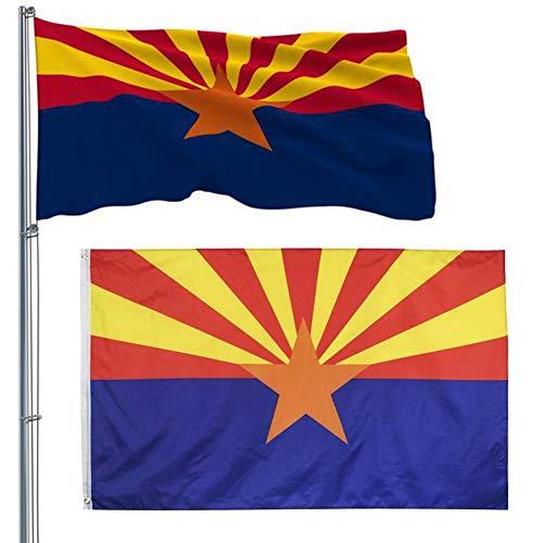 wangza Arizona Flagge Lichtecht Polyester Flagge mit Messing ösen für Drinnen Draußen