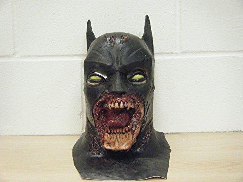 WRESTLING MASKS UK Halloween Batman Deluxe Limited Edition Latex Mask