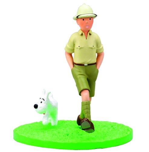 Collectible box scene figure Tintin explorer Moulinsart 43100 (2011)