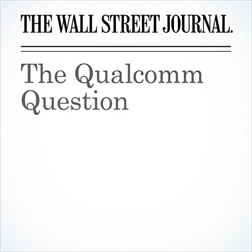 The Qualcomm Question copertina