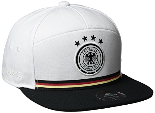 adidas Mütze DFB Legacy Kappe Fußball Cap, White/Black, OSFM