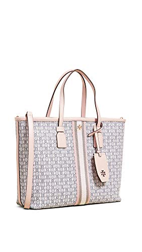 Tory Burch Women's Gemini Link Tote Bag, Pink Gemini Link, One Size