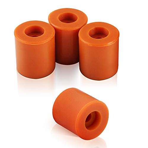 WJMY Silicone Insulated Damper Buffer Tube Unit Heating Bed Silicone Levelling 16 mm Inch Heat Resistant Silicone Buffer for 3D Printers e.g. Anycubic i3 Mega/S Prusa i3 Ender 3 Anet A8