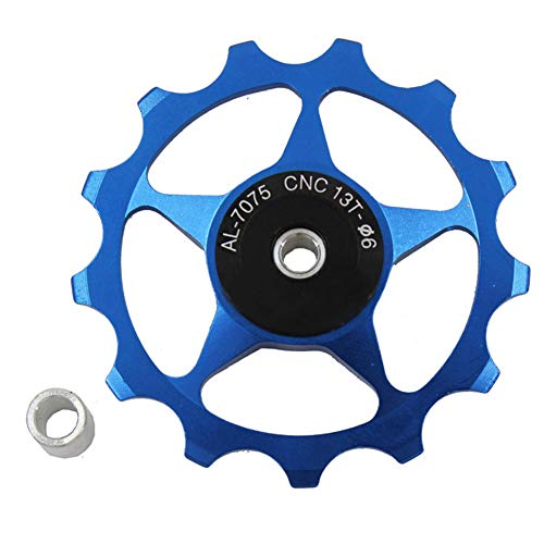 Aluminum Alloy Mountain Bike Bicycle Rear Derailleur Pulley Wheel Road Bike Guide Roller for Outdoor