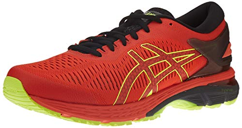 ASICS Herren Gel-Kayano 25 Laufschuhe, Rot (Cherry Tomato/Safety Yellow 801), 46 EU
