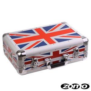 Zomo Flightcase VC-1 XT UK-Flag - Alu Flightcase für DJ Controller wie z.b. DDJ-Wego, Maschine Mikro, MC2000, Vestax Spin, Roland TB-3, Roland TR-8 uvm