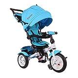 Lorelli Neo triciclo bebé/niño con ruedas hinchables azul