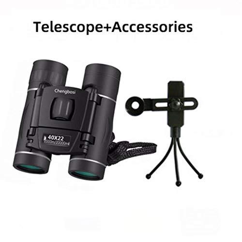 40x22 prismáticos de la Caza Profesional Telescopio oculares Zoom de la Calidad de la visión no Regalos de Infrarrojos Travelodge Fuera,con Accesorios