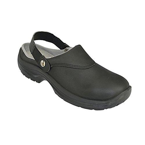 AWC-Footwear Unisex-Erwachsene Eco Safe Sicherheitsschuhe, Schwarz (Schwarz), 45 EU