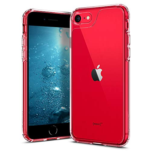 Caseology Waterfall for Apple iPhone SE 2020 Case for iPhone 8 Case (2017) for iPhone 7 Case (2016) - Clear