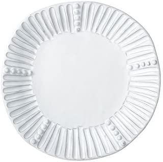 Vietri INC-1101A Incanto Stripe Salad Plate, White