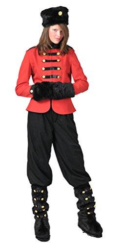Karneval-Klamotten Kosaken-Kostüm Damen-Kostüm Russin Kostüm für Damen
