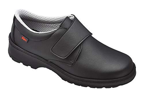 Dian Milán-scl - Zapato de Trabajo Unisex-Adulto, Talla 37, Color Negro