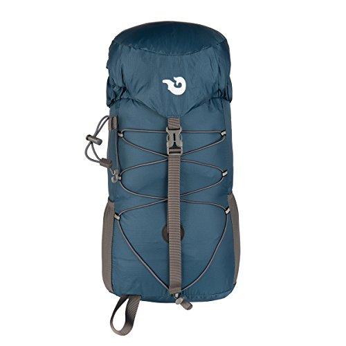 Packable Waterproof Handy Lightweight Travel Backpack Hiking Bag 30L (Blue)