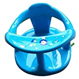 Baby Bath Seat Foldable Bathtub Chair for Tub Sit Up with Backrest Support Security Anti Slip Baby Bath Tubes for Newborn Toddler Blue